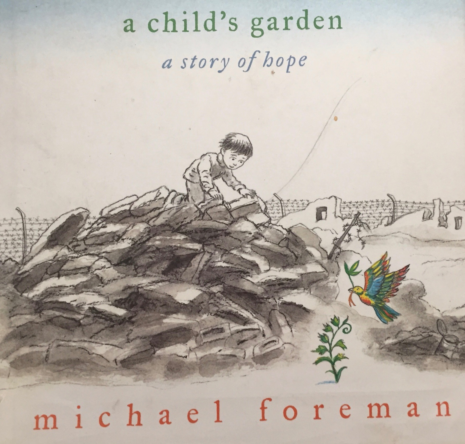 Childs garden Michael Foreman