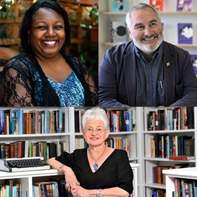 League of Laureates Live-Stream: Jacqueline Wilson, Malorie Blackman and Chris Riddell