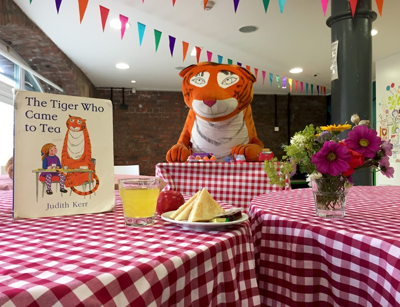 Breakfast with the Tiger