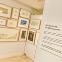 Exhibition includes work by illustrators who worked with Michael Morpurgo.