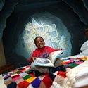 Read a story in our cave, inspired by Can't You Sleep, Little Bear!