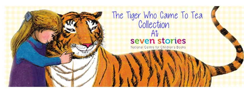 The Tiger Who came to Tea shop collection here at Seven Stories