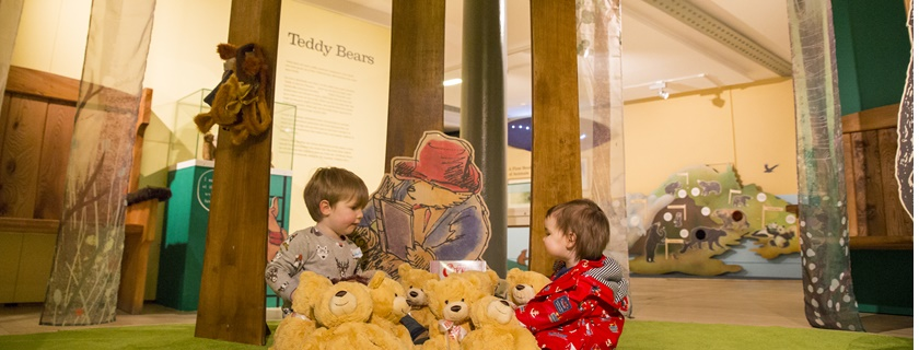 Bears Exhibition - Teddies in the Forest