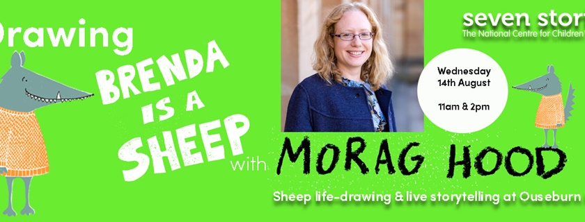 Drawing Brenda is a Sheep