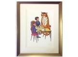 The Tiger at Tea Limited Edition Giclée Print
