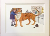 The Tiger and Sophie Limited Edition Giclée Print